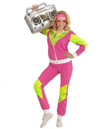 80er Jahre Jogginganzug Kostüm