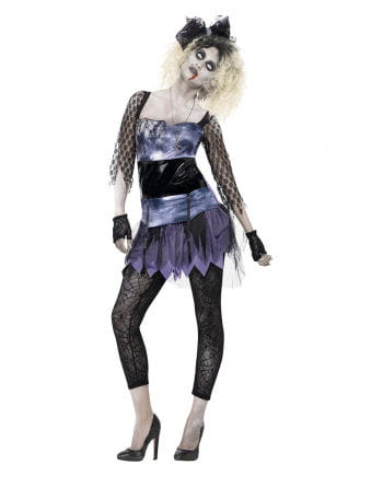 80 Zombie girl costume for women