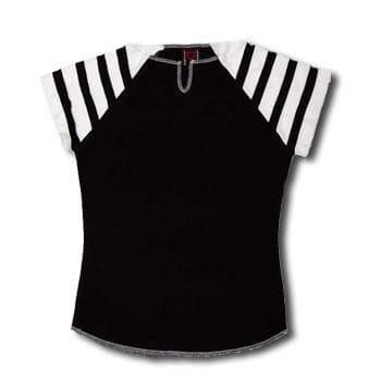 T Shirt Black white Gr. L