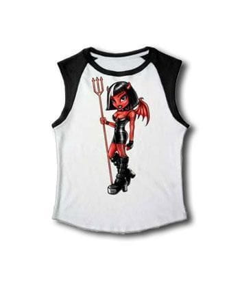 Devil T Shirt sleeveless Gr. M
