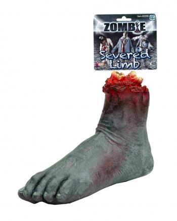 Abgetrennter Zombie Fuß