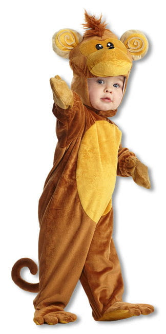 Monkey Child Costume M