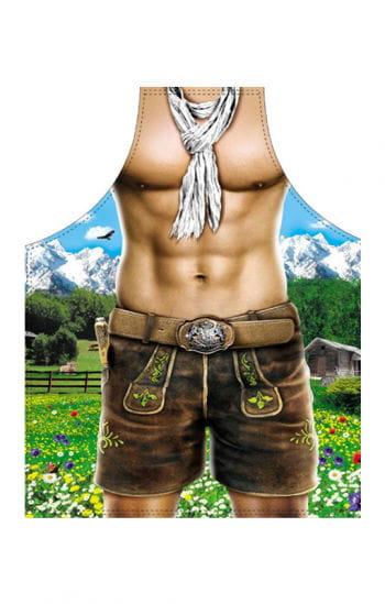 Sexy Alpenboy Motivschürze