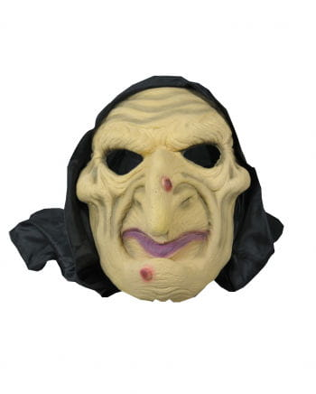 Witch mask with hood