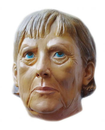 Angela Merkel Latex Maske