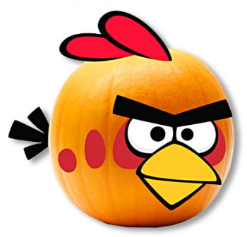 Angry Birds Pumpkin Decoration