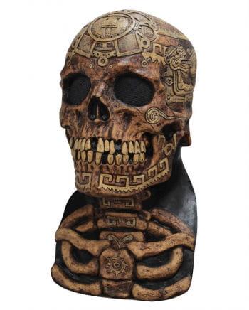 Aztec Totenschädel Maske