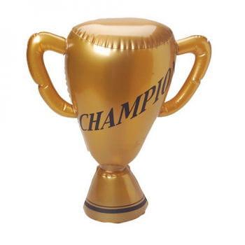 Aufblasbarer Pokal gold