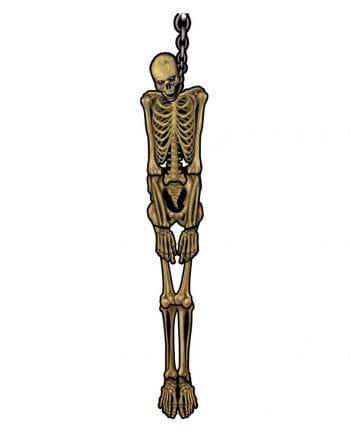 Suspended skeleton Wanddeko