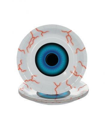 Eyeball dessert plate