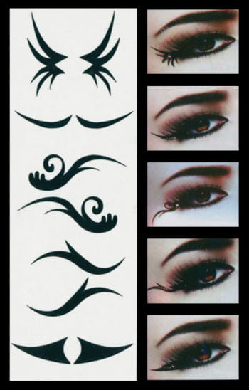 Eyeliner Extensions Eye Tattoo Party Style