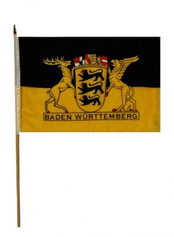 Stock flag state of Baden Württemberg