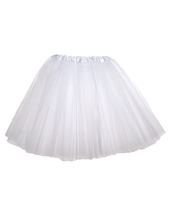 Ballerina Tutu for Kids White