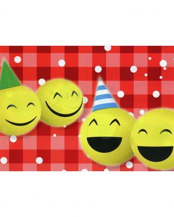 Ballon-Flugkarten Smileys