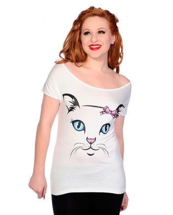 Damenshirt Katze