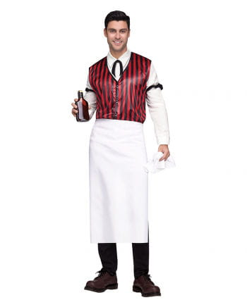 Saloon Bartender Men's Costume