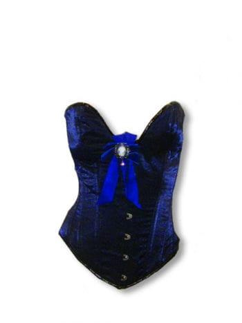 Baroque corset blue