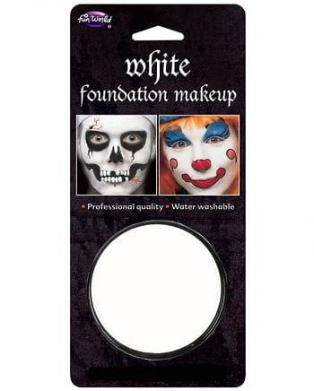 Halloween base makeup-white