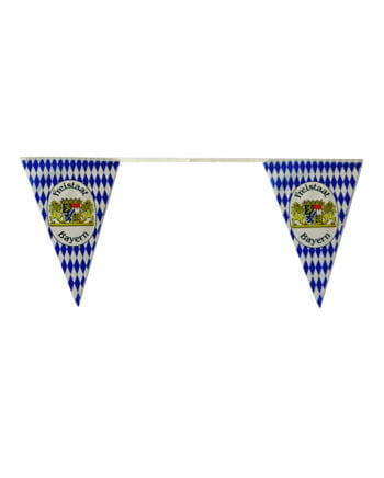 Bavarian Rhombuses Pennant Chain With Coat Of Arms