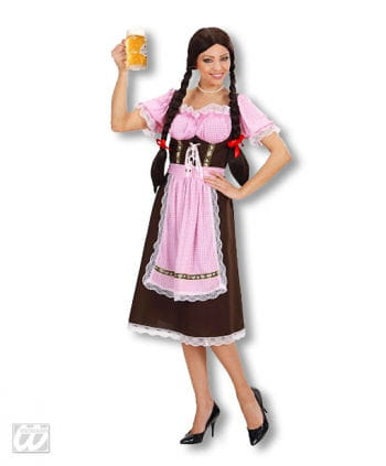 Bavarian Dirndl Costume S / 36   XS / 34