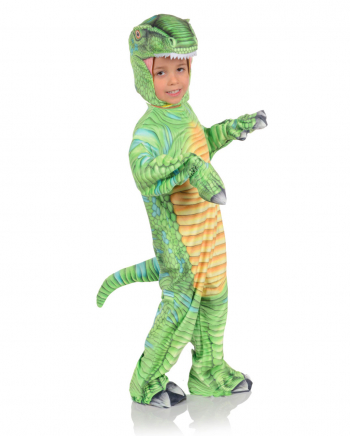 Bedrucktes T-Rex Kleinkinderkostüm Grün