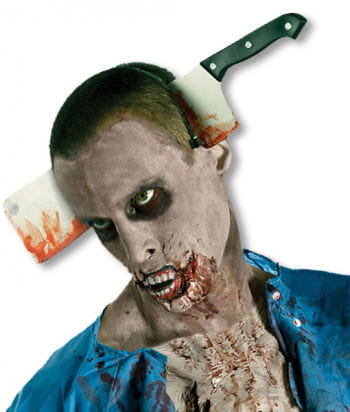 """Cleaver in the Head """"The Walking Dead"""""""