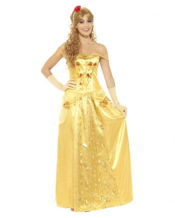 Goldene Prinzessin Kostüm | Belle Kostüm | Horror-Shop.com