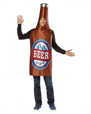 Bierflaschen Kostüm braun