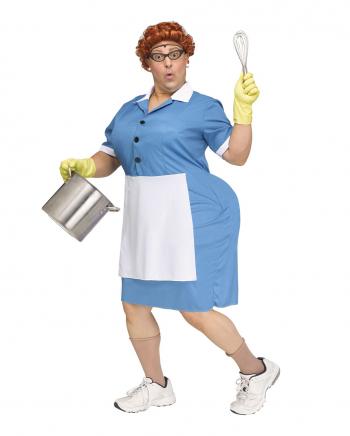Big Booty Cafeteria Lady Herren Kostüm