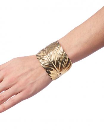 Leaves Bracelet As Costume Accessory