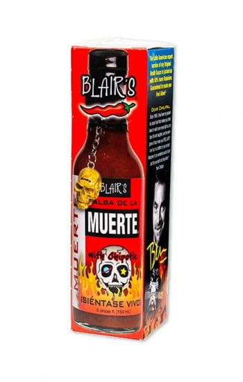 Blair`s hot salsa sauce