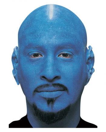 Glatzenfolie blau