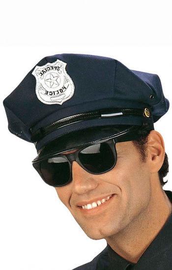Blue police cap