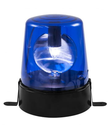 Blue Police Light Rotating Beacon 18W