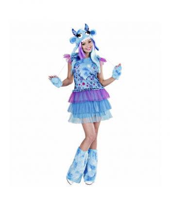 Monster Girl Kostm blue