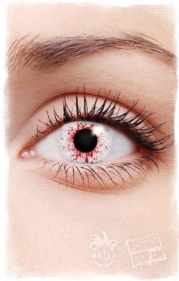 Kontaktlinsen Bloodsplatter