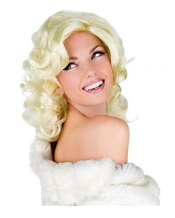 Blonde Diva Perücke