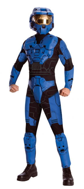 Blue Spartan Deluxe Kostüm XL