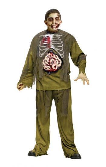 Blutender Zombie Kinderkostüm