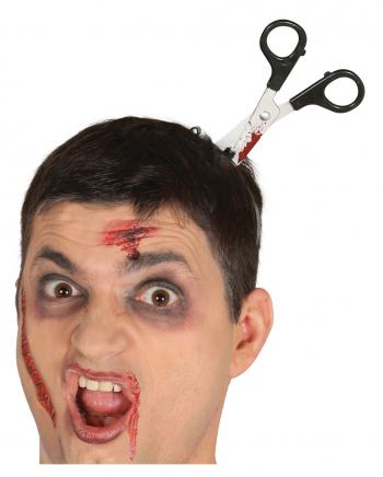 Blutige Schere Halloween Haarreif
