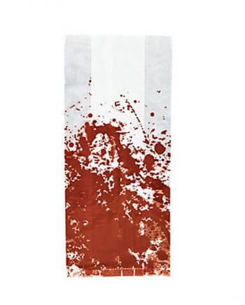 Blutige Cellophantüten