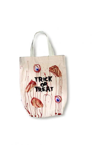 Blutige Halloween Trick or Treat Tasche