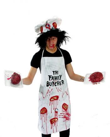 Bloody zombie cook costume 2tlg