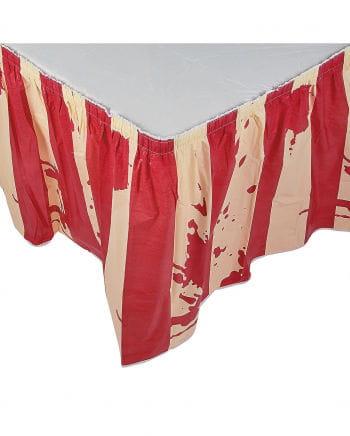 Bloody Circus table skirt