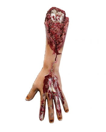 Blutiger Zombie Arm