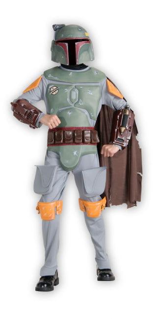 Boba Fett Deluxe Kinder Kostüm