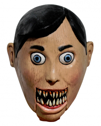 Böse Bauchredner Puppe Maske