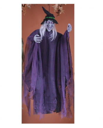 Scary Witch Hanging Figure
