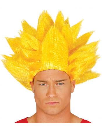 Evil Manga Fighter Wig