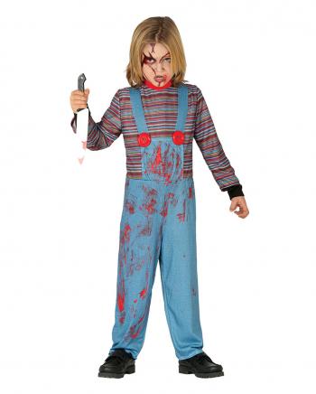 Böse Mörderpuppe Kinder Kostüm
